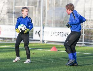 Frank de Ruiter, Keeperschool, keeper